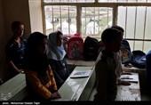 توزیع هدایای آموزش پرورش به دانش آموزان مناطق زلزله زده خراسان رضوی