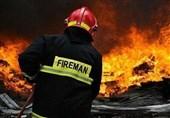 2 آتش نشان در آتشسوزی امروز سلیمانداراب رشت دچار سانحه شدند