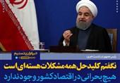 روحانی:نگفتم کلیدحل همه مشکلات مسائل هسته ای است