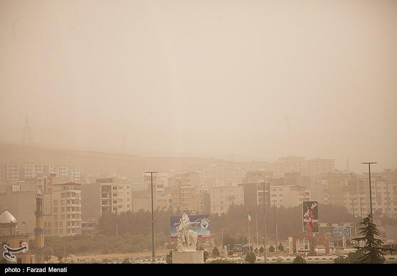 آلودگی هوا در کرمانشاه