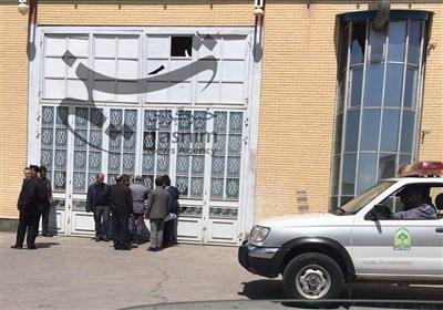 خلع ید نمایشگاه بین المللی تبریز