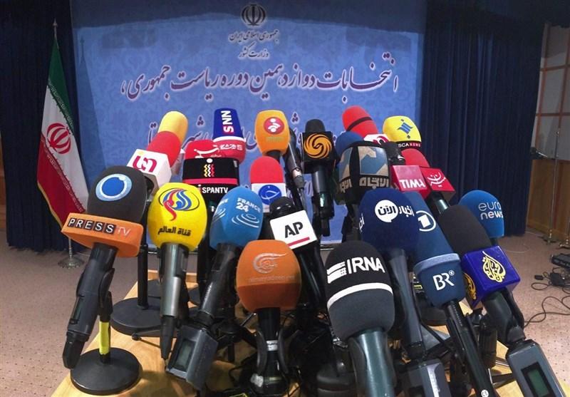 تک عکس/ حضور پررنگ رسانههای داخلی و خارجی در وزارت کشور