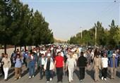 همایش بزرگ پیادهروی در شهرهای کهگیلویه و بویراحمد برگزار شد