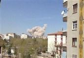 انفجار فی مدینة دیار بکر جنوب ترکیا وسقوط ضحایا