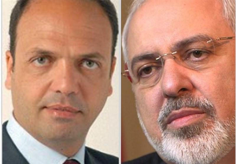 ایرانی اور اطالوی وزرائے خارجہ کے درمیان ٹیلیفونک گفتگو