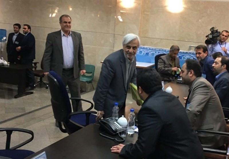 هاشمیطبا در انتخابات ریاست جمهوری ثبتنام کرد + فیلم