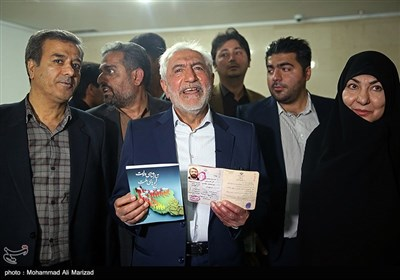 ثبتنام سیدمحمد غرضی در دوازدهمین دوره انتخابات ریاست جمهوری