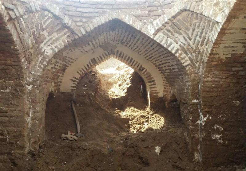 سازه پایاب قنات در شهر تاریخی تون شهرستان فردوس شناسایی شد