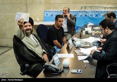 ثبتنام آیتالله سیدهاشم بطحایی در دوازدهمین دوره انتخابات ریاست جمهوری