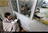 مراسم اعتکاف در کرمان