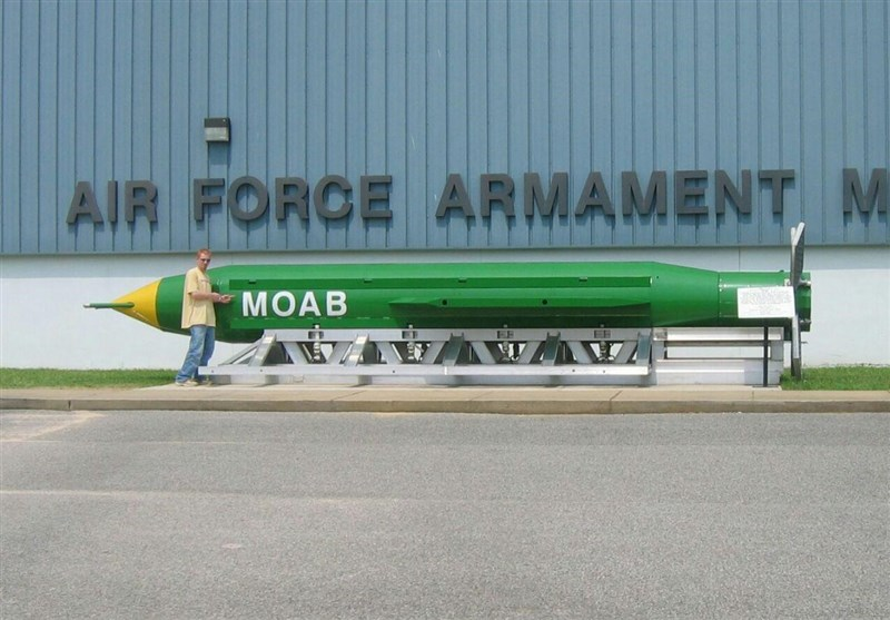 امریکہ کا افغانستان میں نان نیوکلیئر بم سے حملہ/ پینٹاگون کی تصدیق
