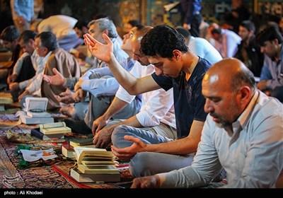 مراسم اعتکاف در اصفهان