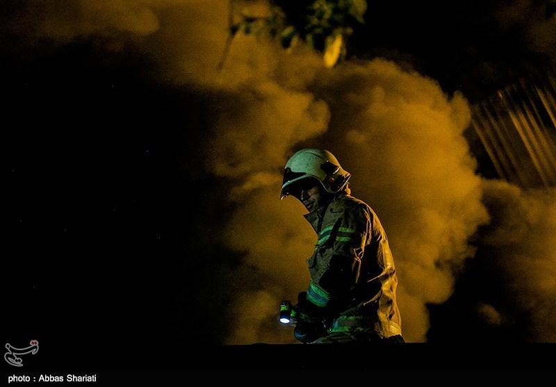 آتشسوزی در خط 2 قطار شهری مشهد خسارت جانی نداشته است