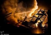 آتش سوزی ایران خودرو مهار شد