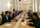 آغاز نشست 3 جانبه وزرای خارجه ایران، روسیه و سوریه