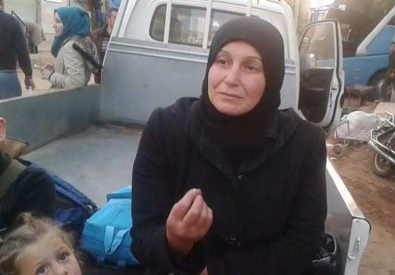 هذا ما قاله أهالی الفوعة وکفریا لحظة مغادرتهم إلى حلب +فیدیو وصور