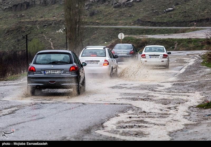 سیلابی شدن رودخانهها و آبگرفتگی در 12 استان کشور