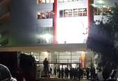 4 افسر پلیس همچنان در بیمارستان نظامی و بازداشت هواداری با مواد مخدر