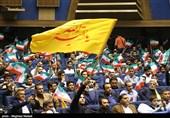 همایش حمایت از کاندیداتوری قالیباف در انتخابات 96