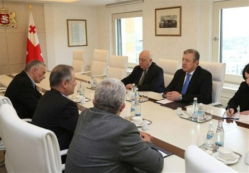السفیر الایرانی یلتقی رئیس وزراء جورجیا