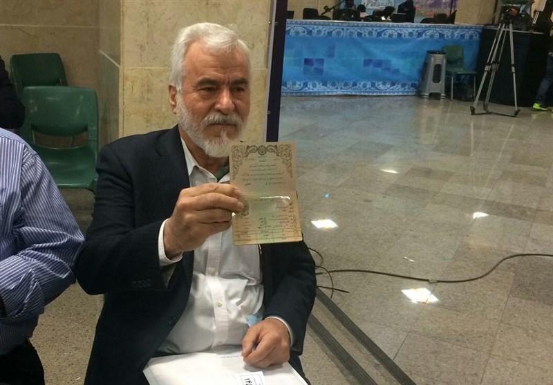 عوض حیدرپور ثبتنام انتخابات