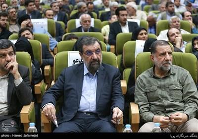 سرلشکرمحسن رضایی و سردار محمد کوثری