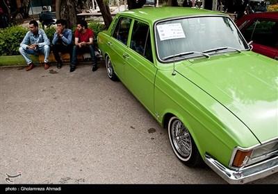 گردهمایی خودروهای کلاسیک در بهشهر