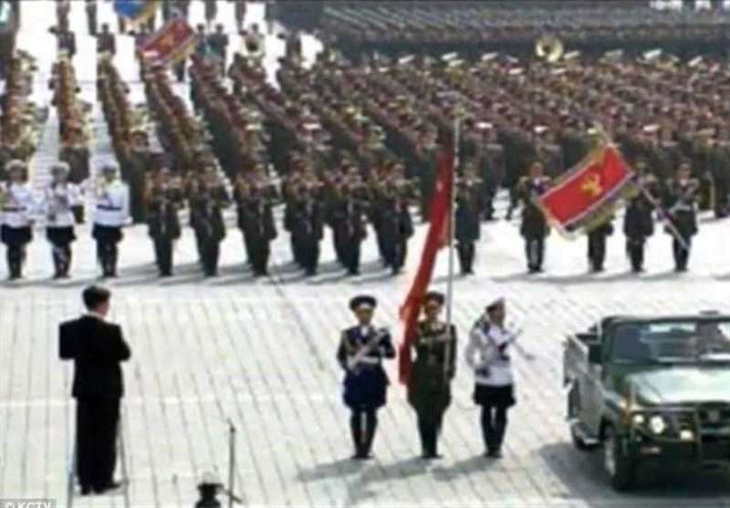 رژه کره شمالی