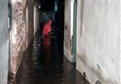 آسیب دیدگان سیل تبریز در سالن بحران بارنج اسکان داده شدند