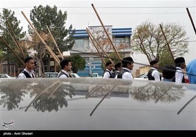 آیین بیل گردانی در شهرستان نیم ور - اراک