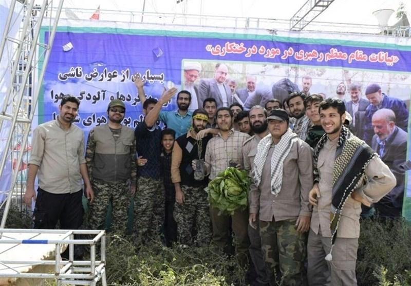 25 هکتار از اراضی خوزستان توسط گروههای جهادی همدان نهالکاری شد