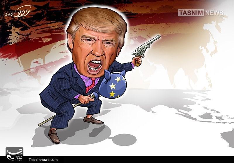کاریکاتور/ دیوانه از قفس پرید !!!