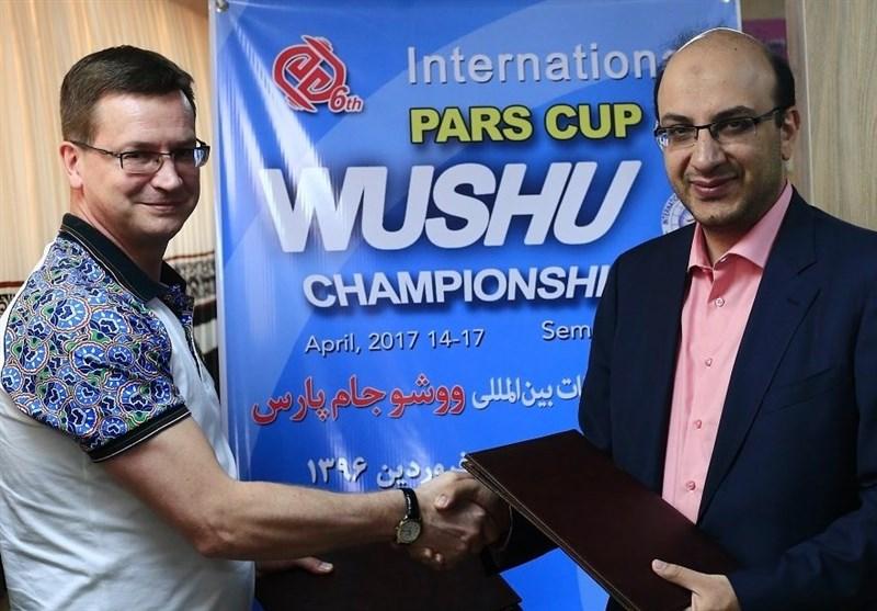امضای تفاهمنامه فدراسیونهای ووشوی ایران و بلاروس