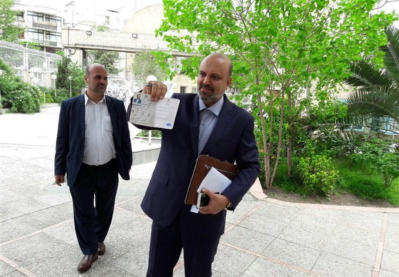 «منادی» داوطلب انتخابات ریاستجمهوری شد+ عکس