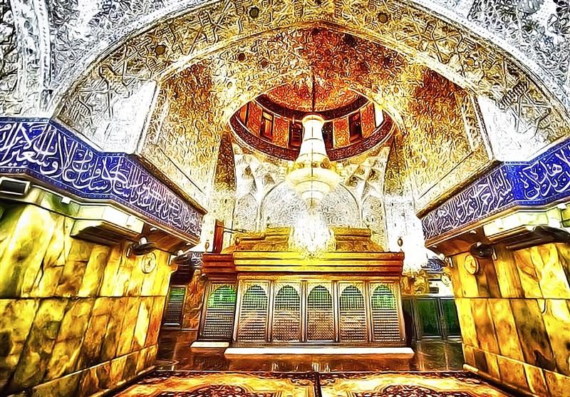 «بزرگترین پُتّه جهان » برای ضریح امام حسین(ع) بافته شد + تصاویر