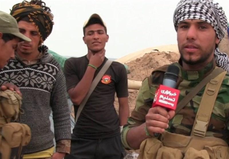 عراق/ مصاحبه 300 متری با مواضع داعش/4