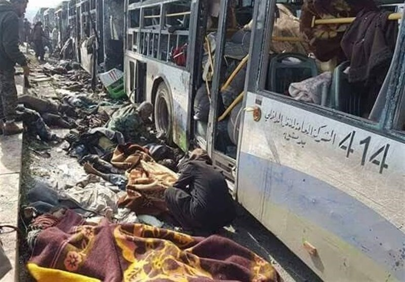 Teröristler Sivilleri Taşıyan Otobüslerin Fua Ve Keferya'dan Çıkışına İzin Vermiyor