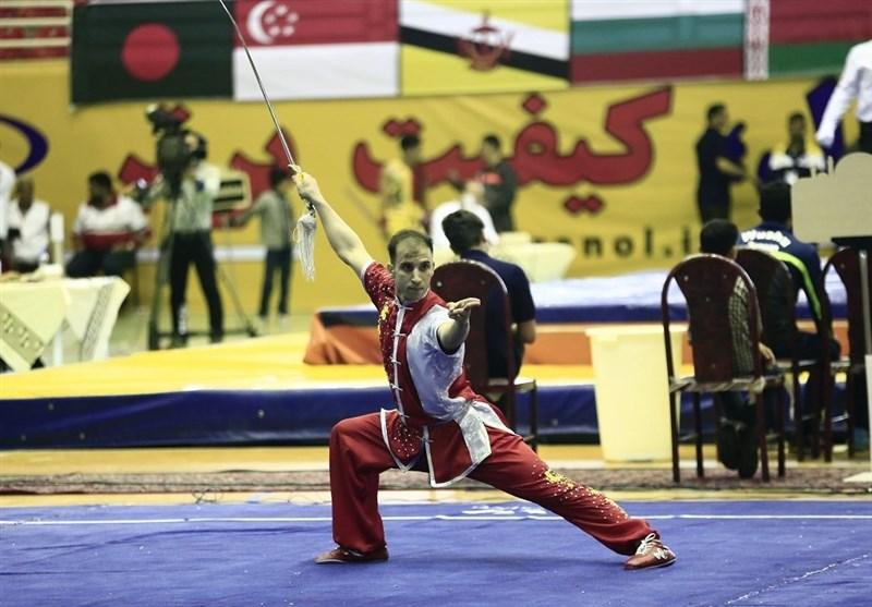 محمدی مدال طلای مسابقات ووشو جام پارس را برای ایرانیها دشت کرد