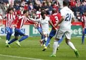 برتری دیر هنگام رئال مادرید مقابل خیخون در غیاب BBC