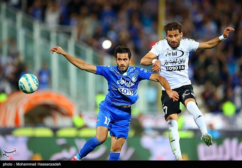 Esteghlal Beats 10-Man Saba to Move into IPL Second Place