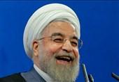 """حسن روحانی افتخار """"قرارگاه خاتم"""" را به نام خود و """"برجام"""" ثبت کرد"""