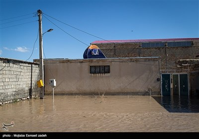 Flooding Batters Rural Areas Northwest of Iran