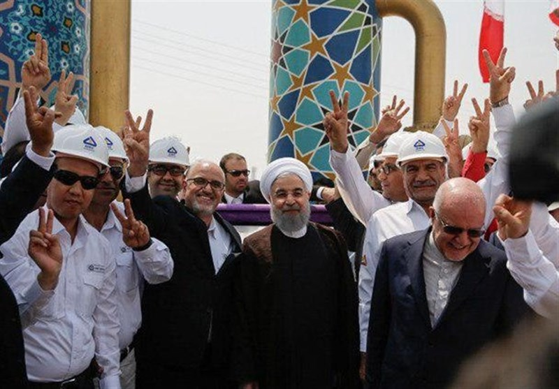 Iran Inaugurates Phases 17, 18 of South Pars Gas Field