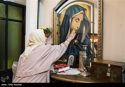 مراسم عید پاک در کلیسای گریگور مقدس