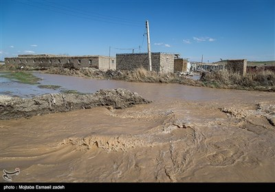 ایران کے شہر ارومیہ میں سیلاب کی تباہ کاریاں