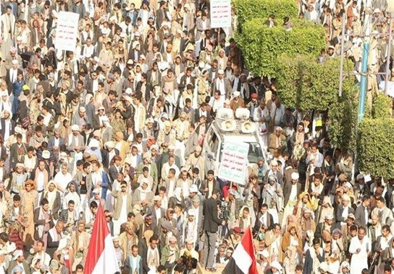 Yemenis Stage Massive Protests against Saudi Aggressions