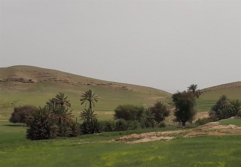 خشکشدن روخانه جارود هفتگل بهروایت تصویر
