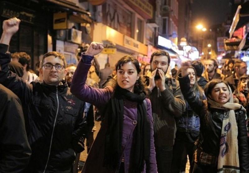 اعتراضات ترکیه