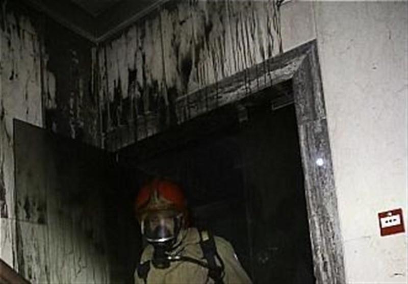اتصالی برق عامل آتشسوزی در آبادان/ آتشسوزی صدمات جانی نداشته است