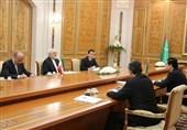 Iran's FM, Turkmen President Discuss Closer Economic, Security Cooperation